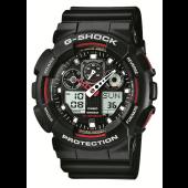 CASIO vyriški laikrodžiai G-Shock GA-100-1A4ER
