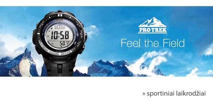 CASIO ProTrek laikrodžiai