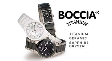 Boccia titaniniai laikrodziai