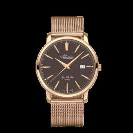 Atlantic Super De Luxe vyriški laikrodžiai 64356.44.81