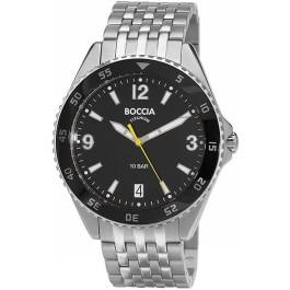 Boccia titaniniai vyriški laikrodžiai 3599-03