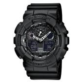 CASIO vyriški laikrodžiai G-Shock GA-100-1A1ER